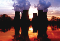 LARGE PIC EU Investigates UK Government £75m Loan to Drax Group. Pic: Drax at sunset