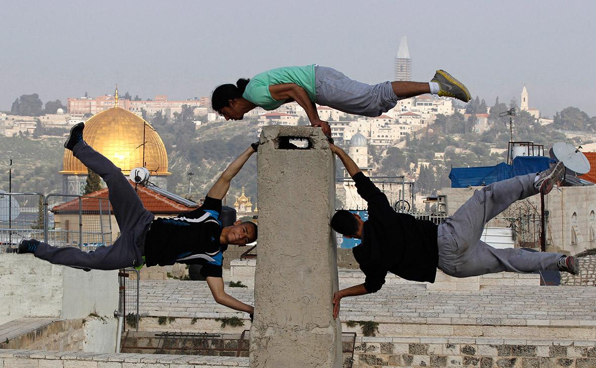 palestine parkour