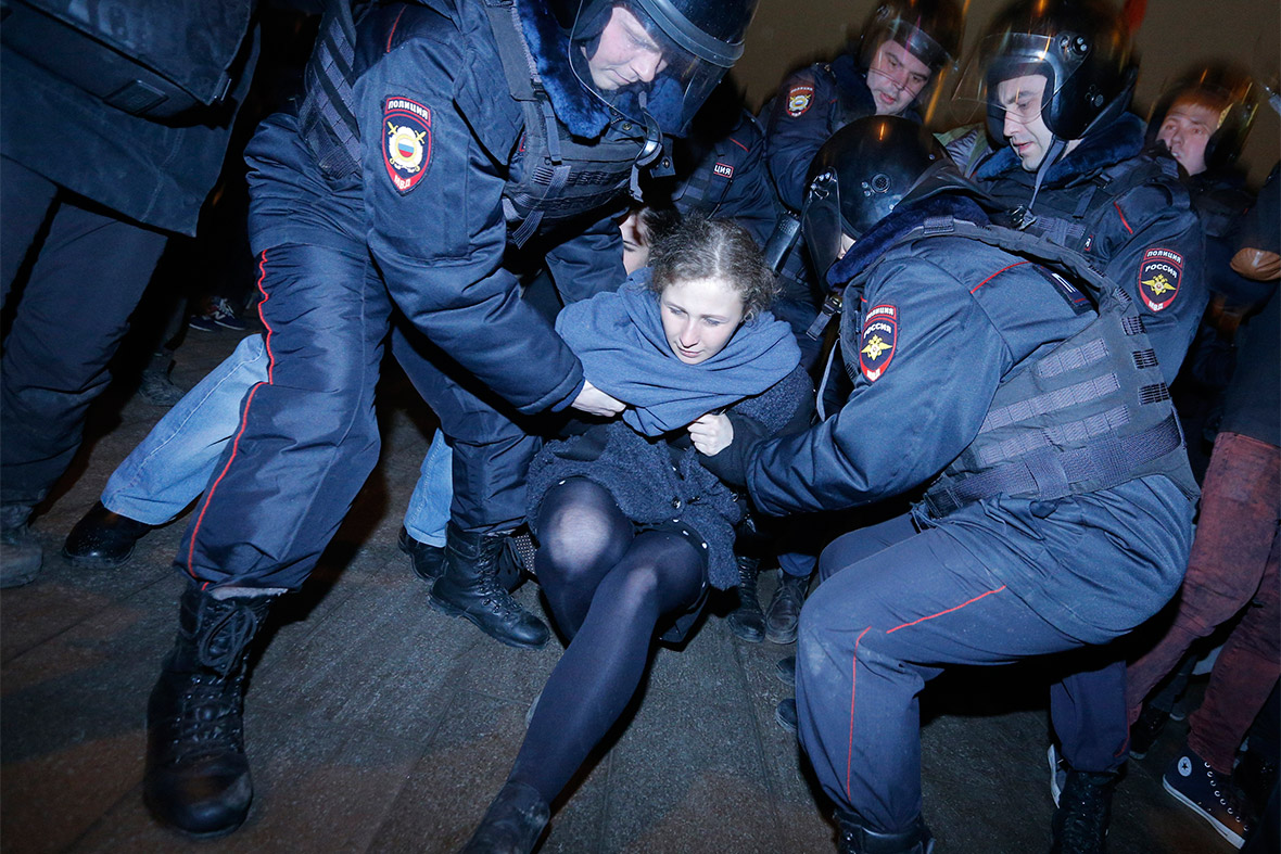 pussy riot arrest