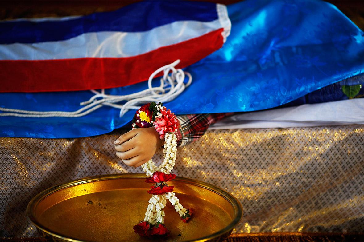 thai dead child