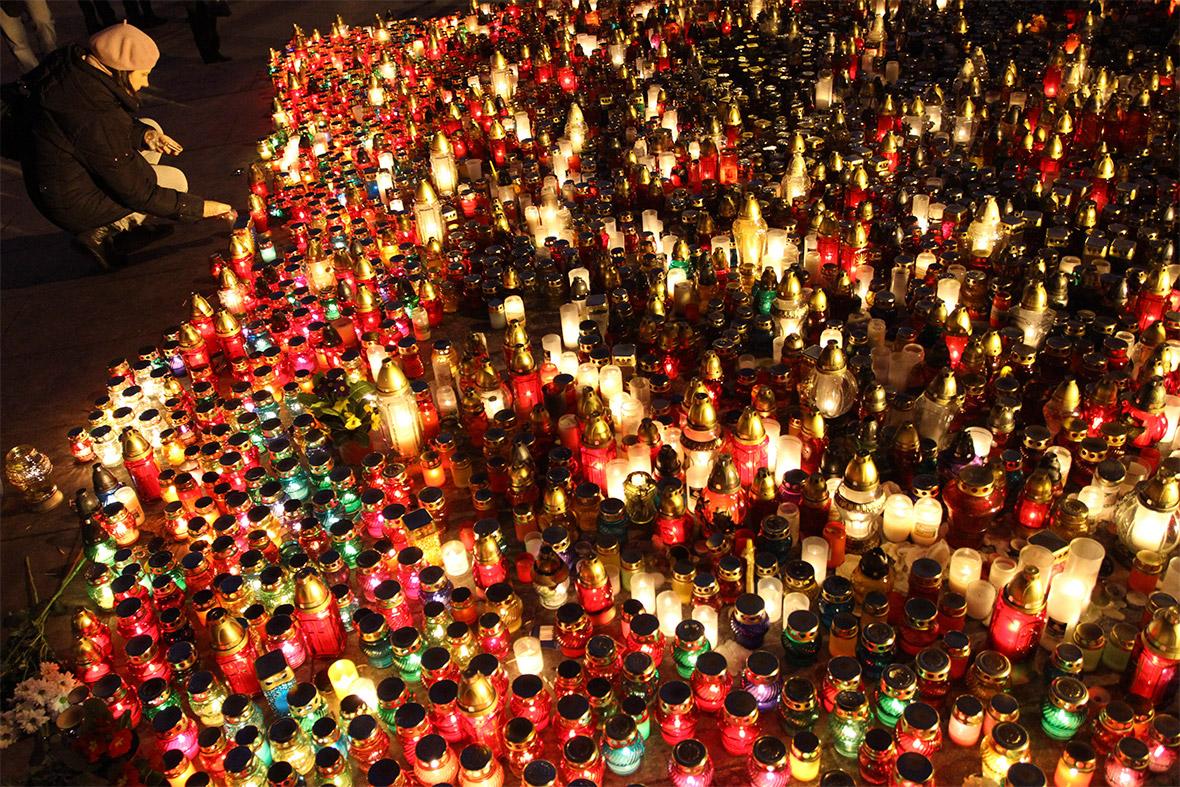 ukraine candles