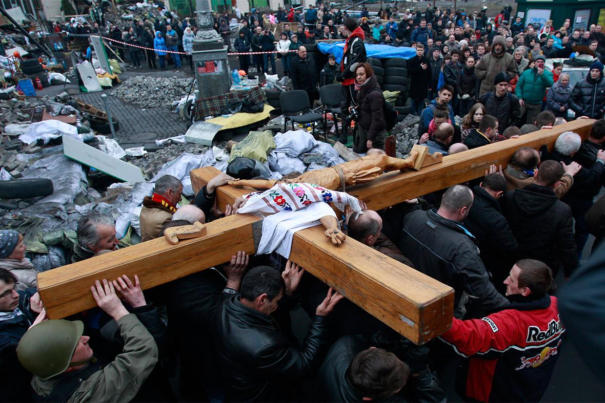 ukraine crucifix