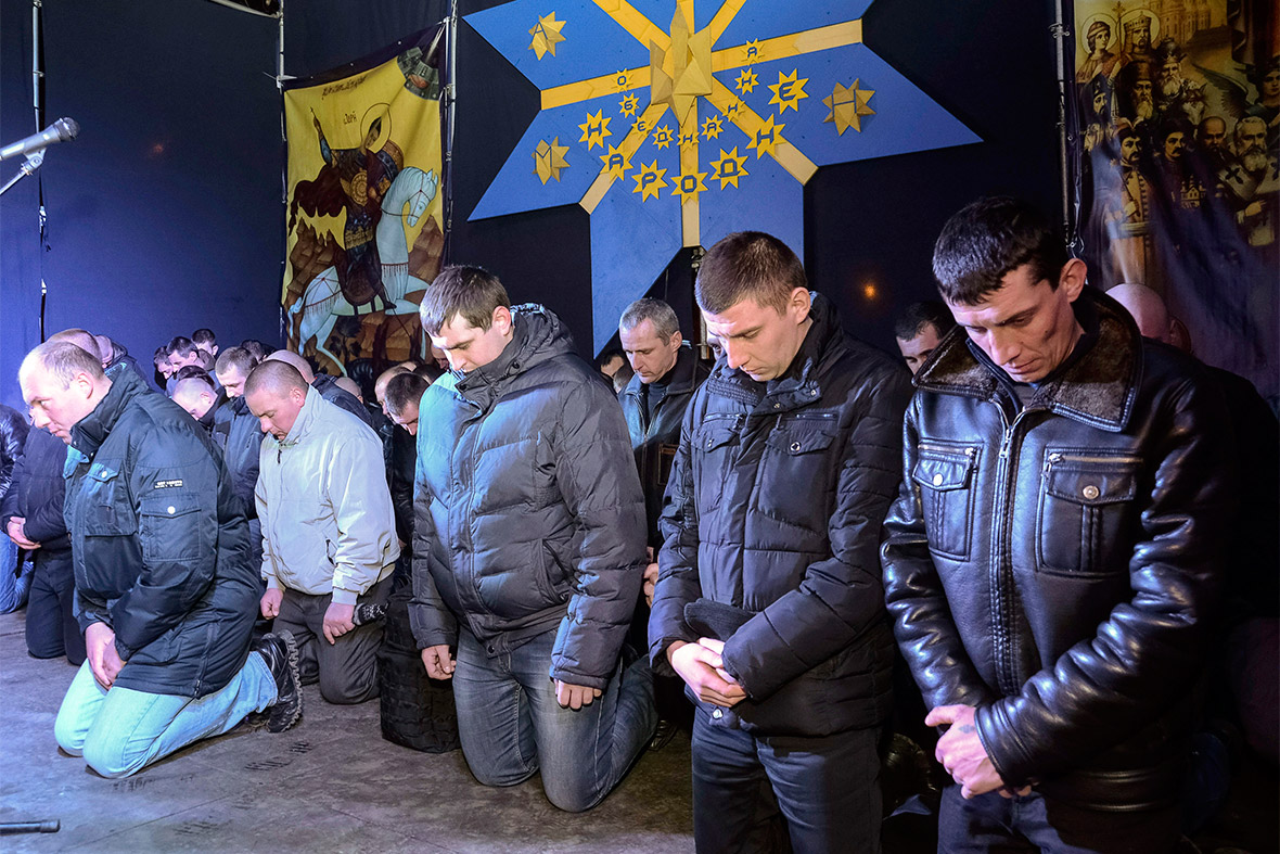 Ukraine police apologise