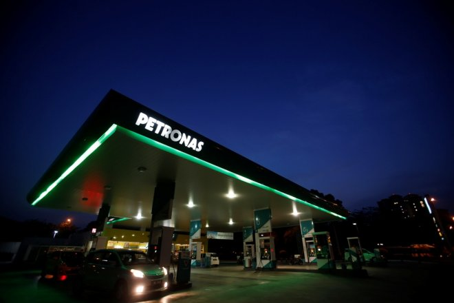 Petronas Gast Station Malaysia