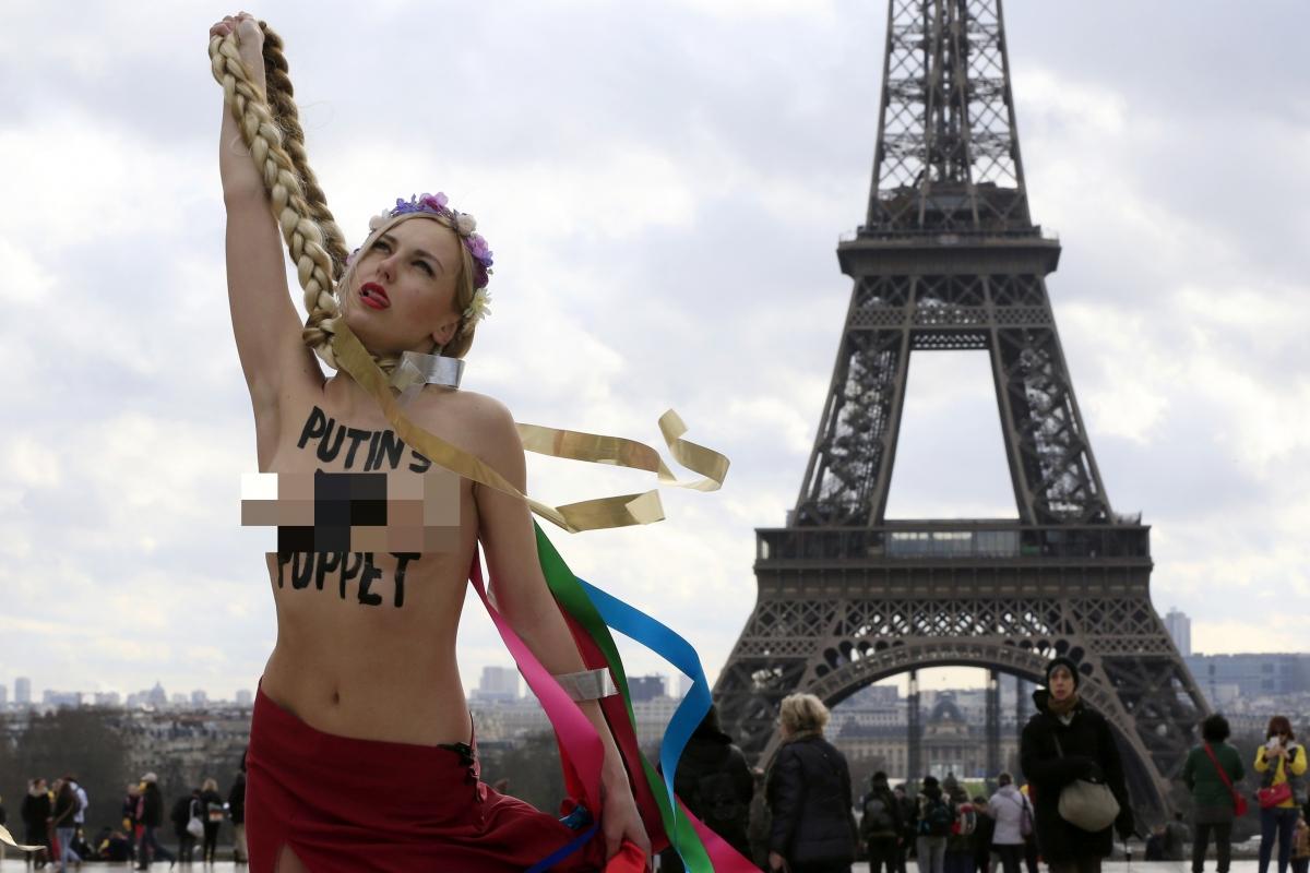 Yulia Tymoshenko Femen