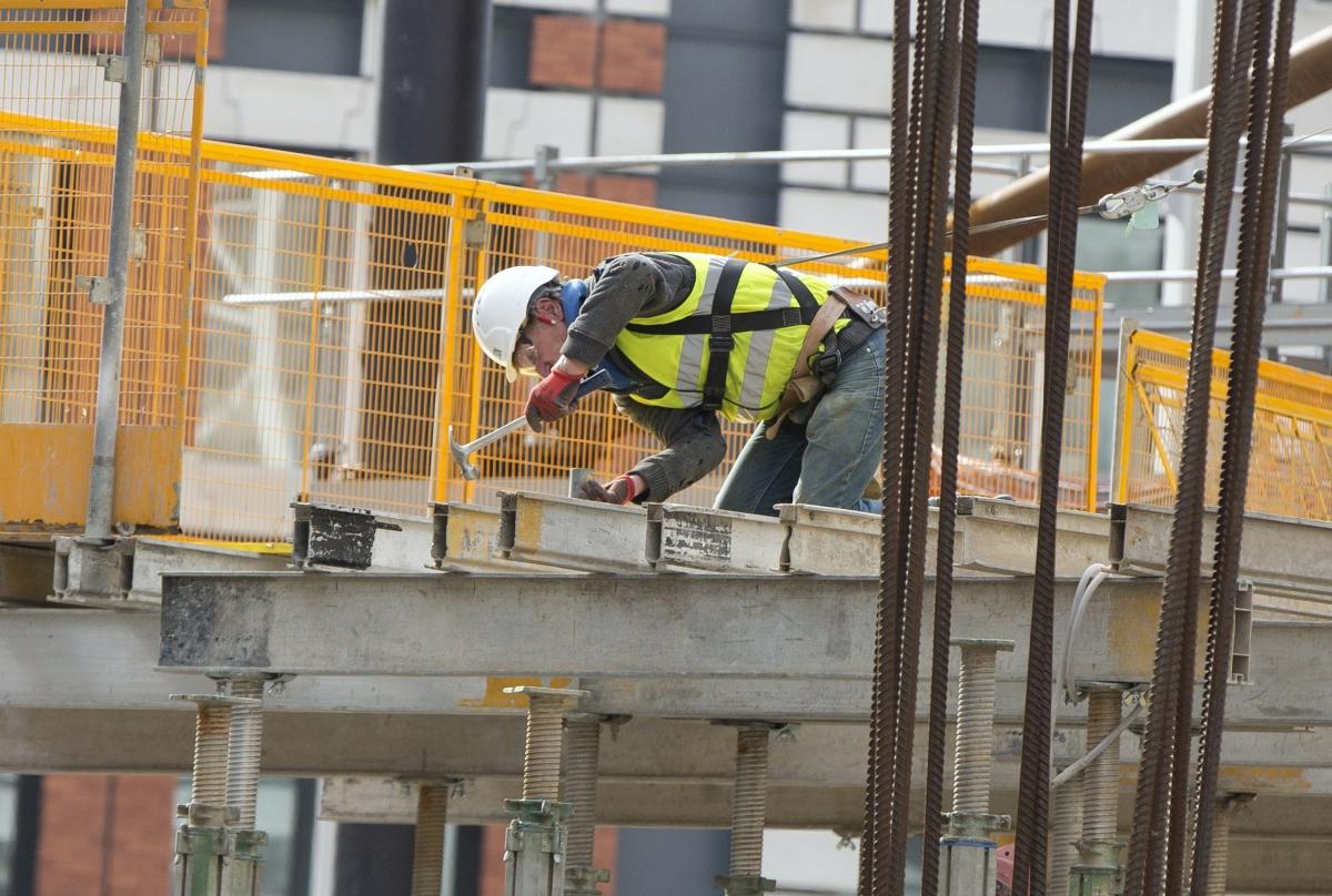 Construction worker UK