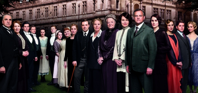Downton Abbey (pictured) and X Factor Boost ITV Revenues