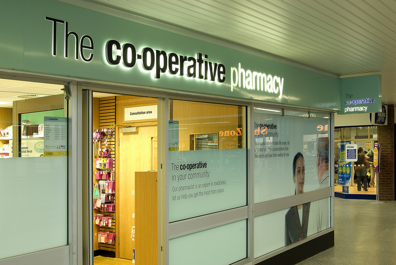 Co-op to Sell Pharmacies