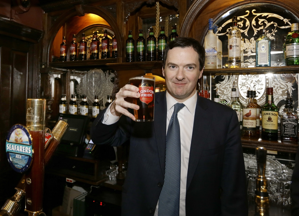 UK Chancellor George Osborne Boosted as UK Economy Grows on Household Spending