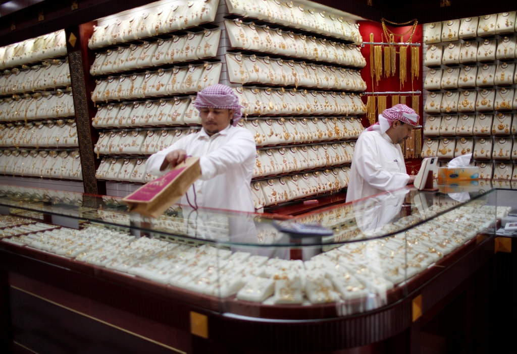 Jewellery Store Gold Souq Dubai UAE