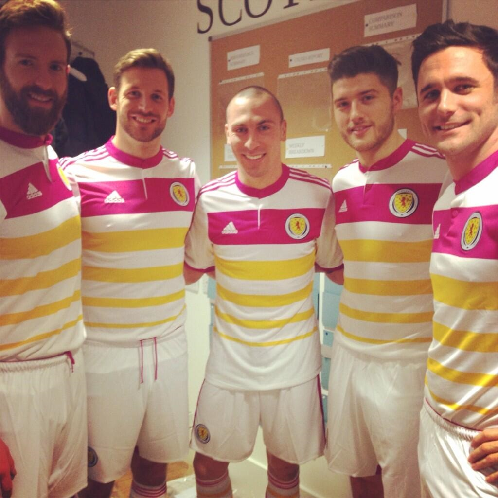 Scotland away kit