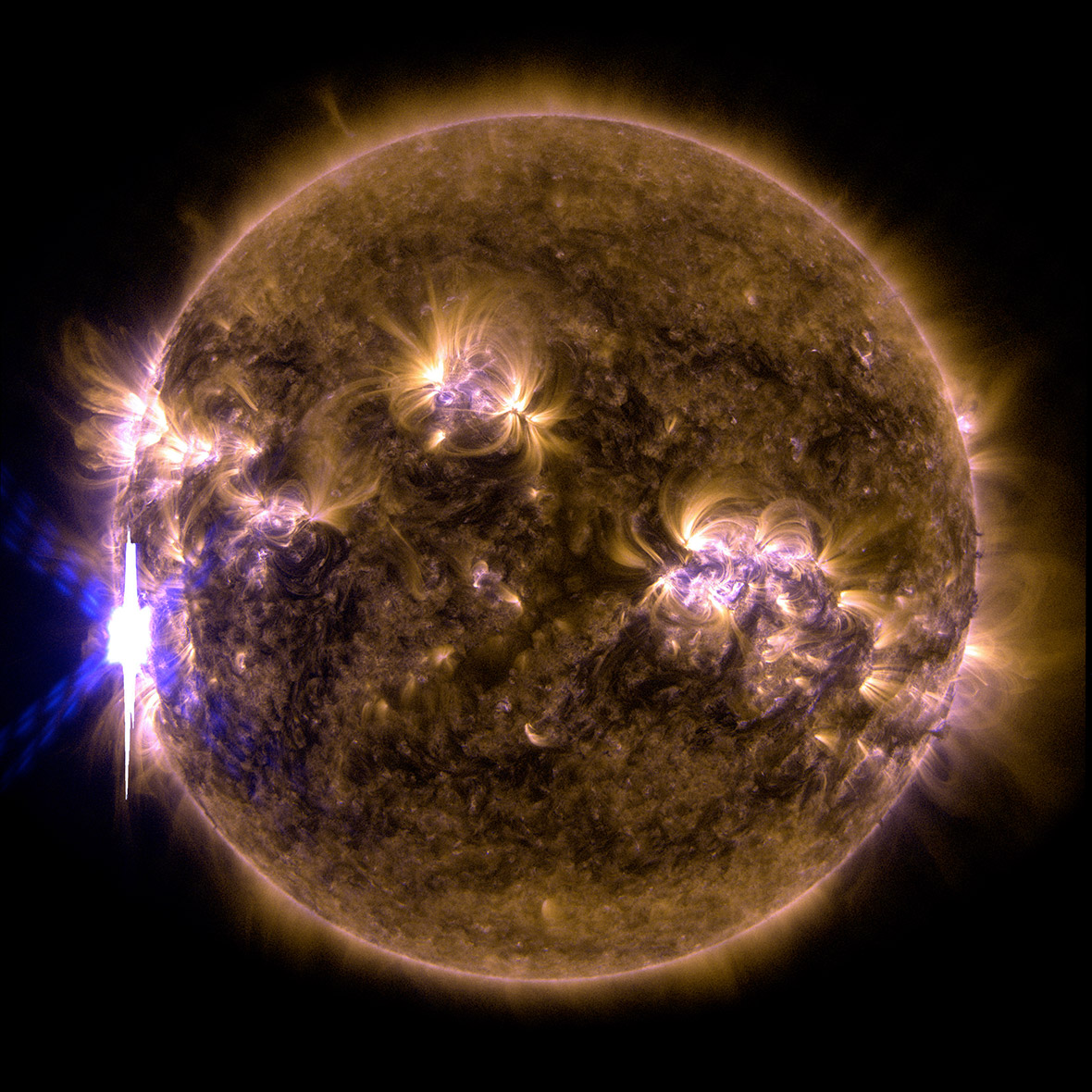 Sun From Space: Solar Flares And Sunspots: Spectacular Images Of The Sun