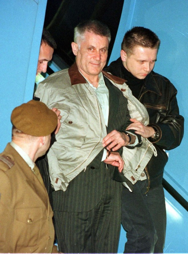 Former Yugoslav secret service assassin Vinko Sindicic