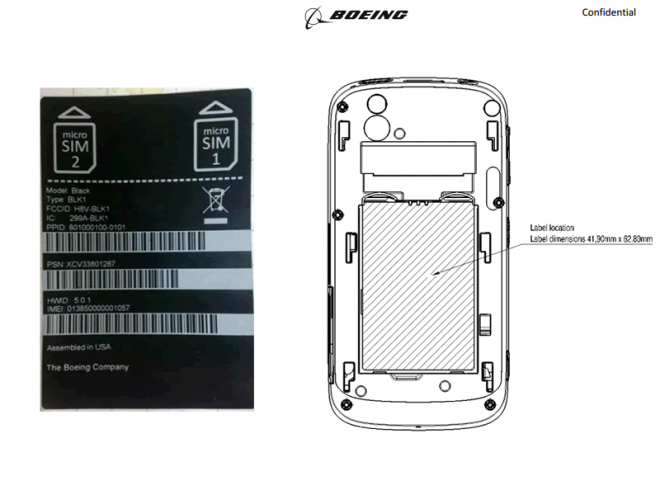 Boeing Black, a new dual-SIM Android smartphone