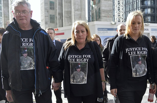 Lee rigby family