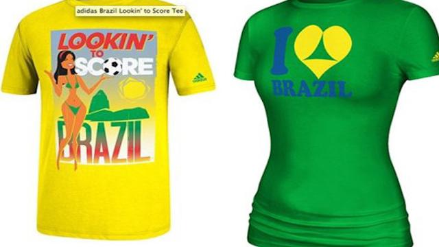 Adidas Pulls Raunchy World Cup T-Shirts