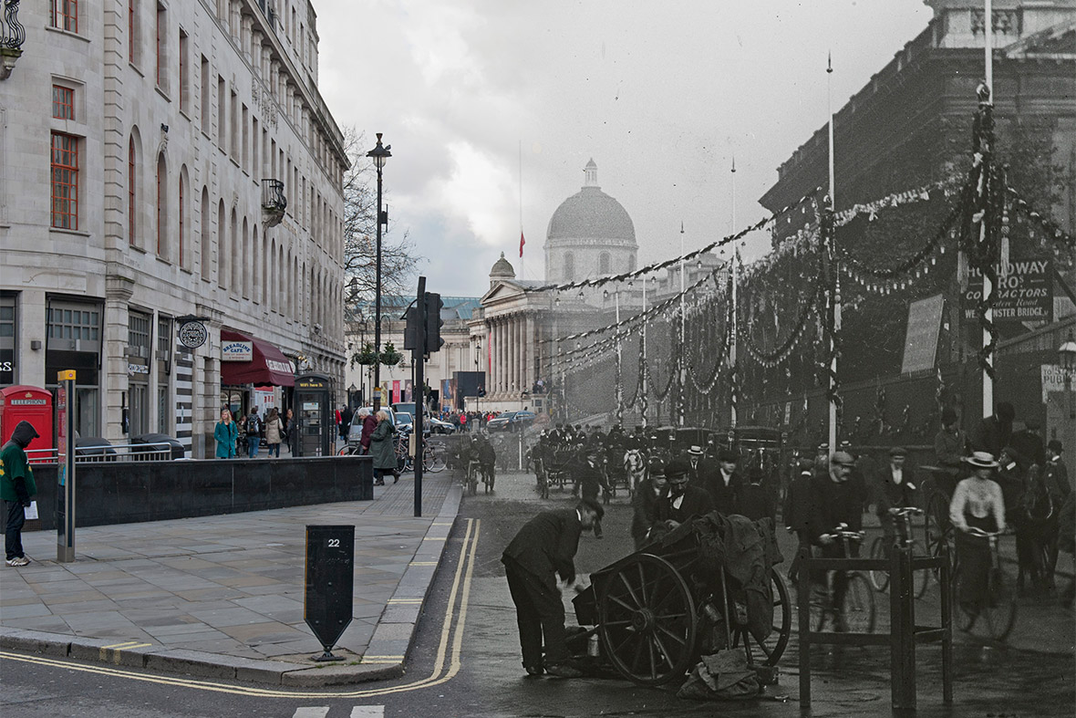 Duncannon Street, Westminster 1902