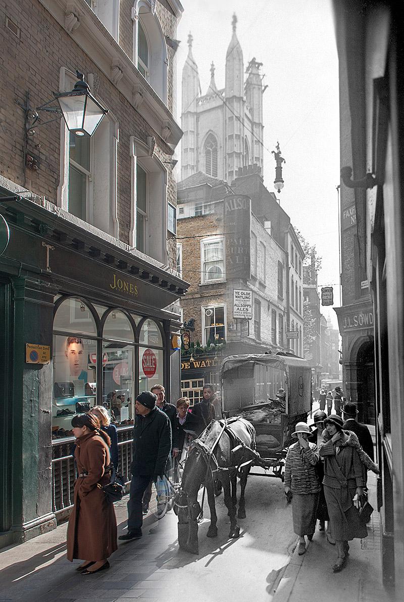 Bow Lane c.1930