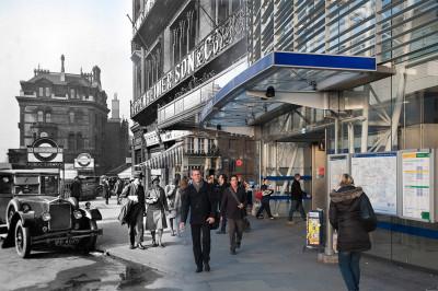 Blackfriars Station c.1930