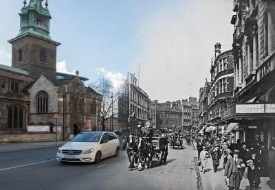 Byward Street Tower Hill c.1930