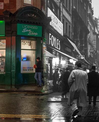 Charing Cross Road c. 1935