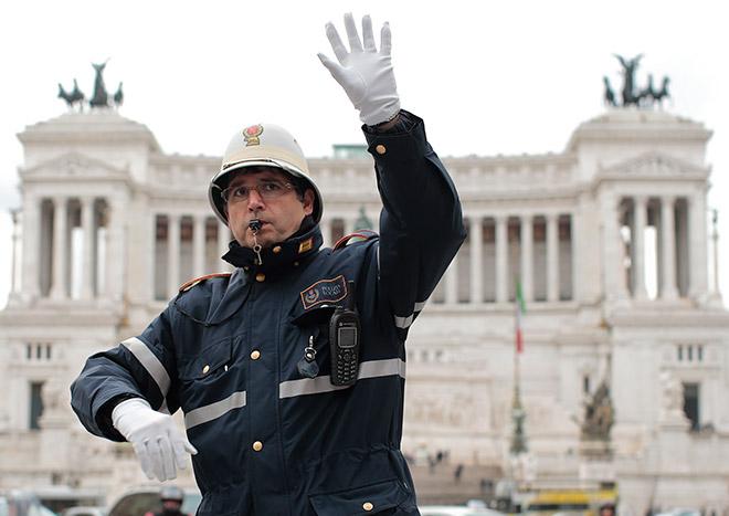 Rome stop