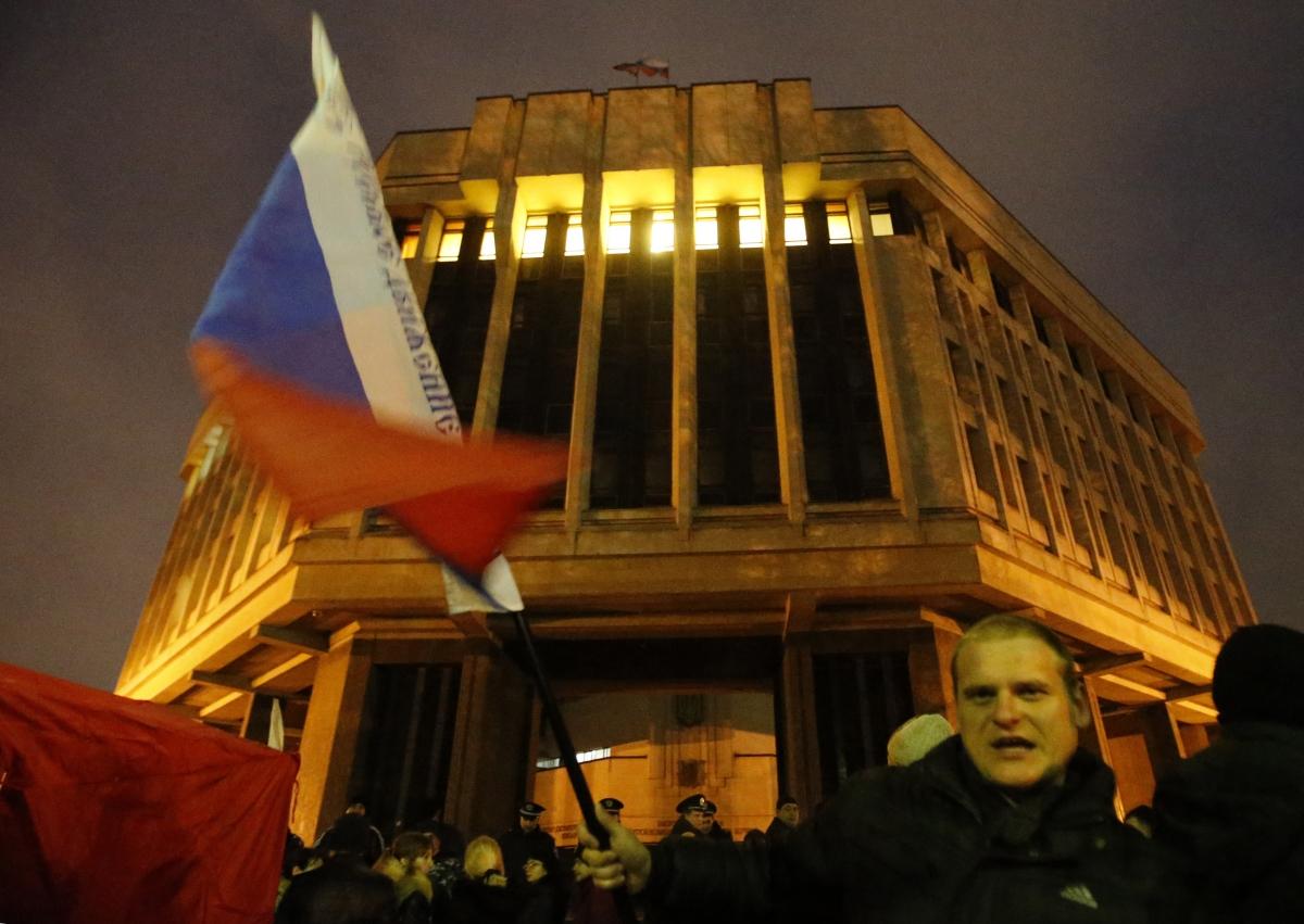 Ukraine protests and Crimea unrest