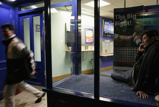 UK Betting shop