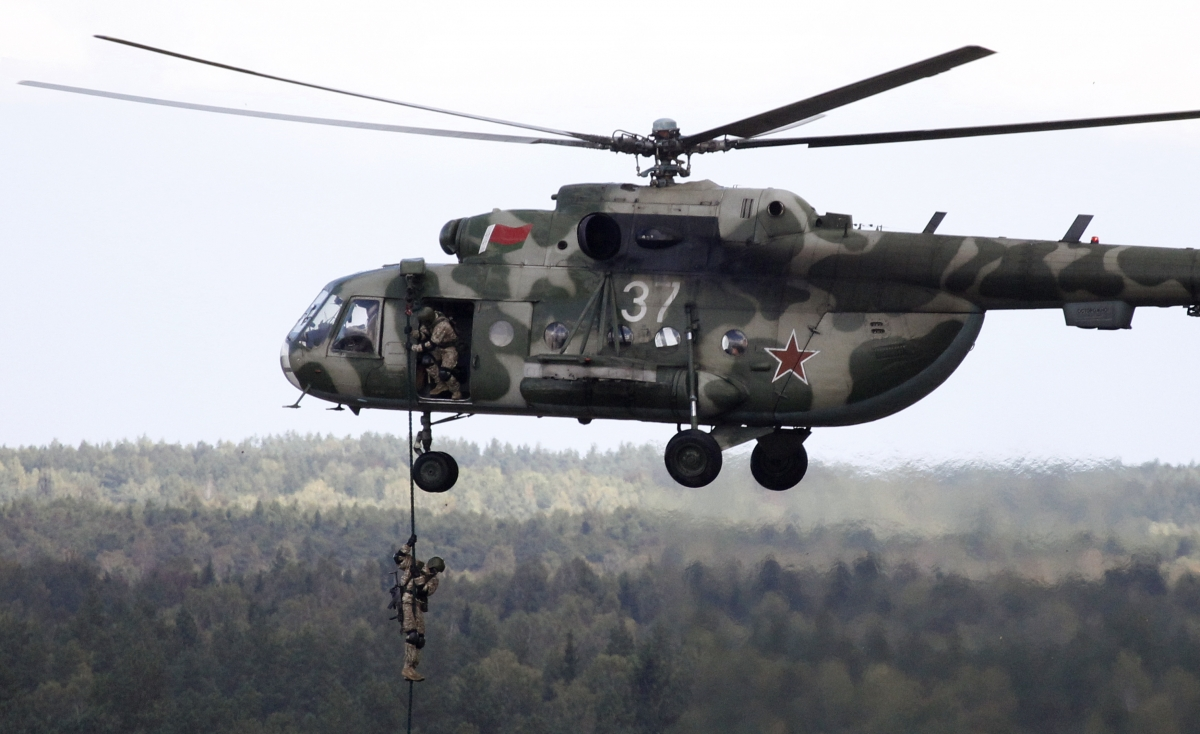 Ukraine: Russia re-deploys 80 helicopters