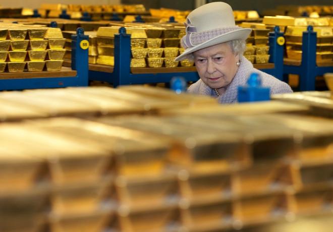Bank of England Gold Vault