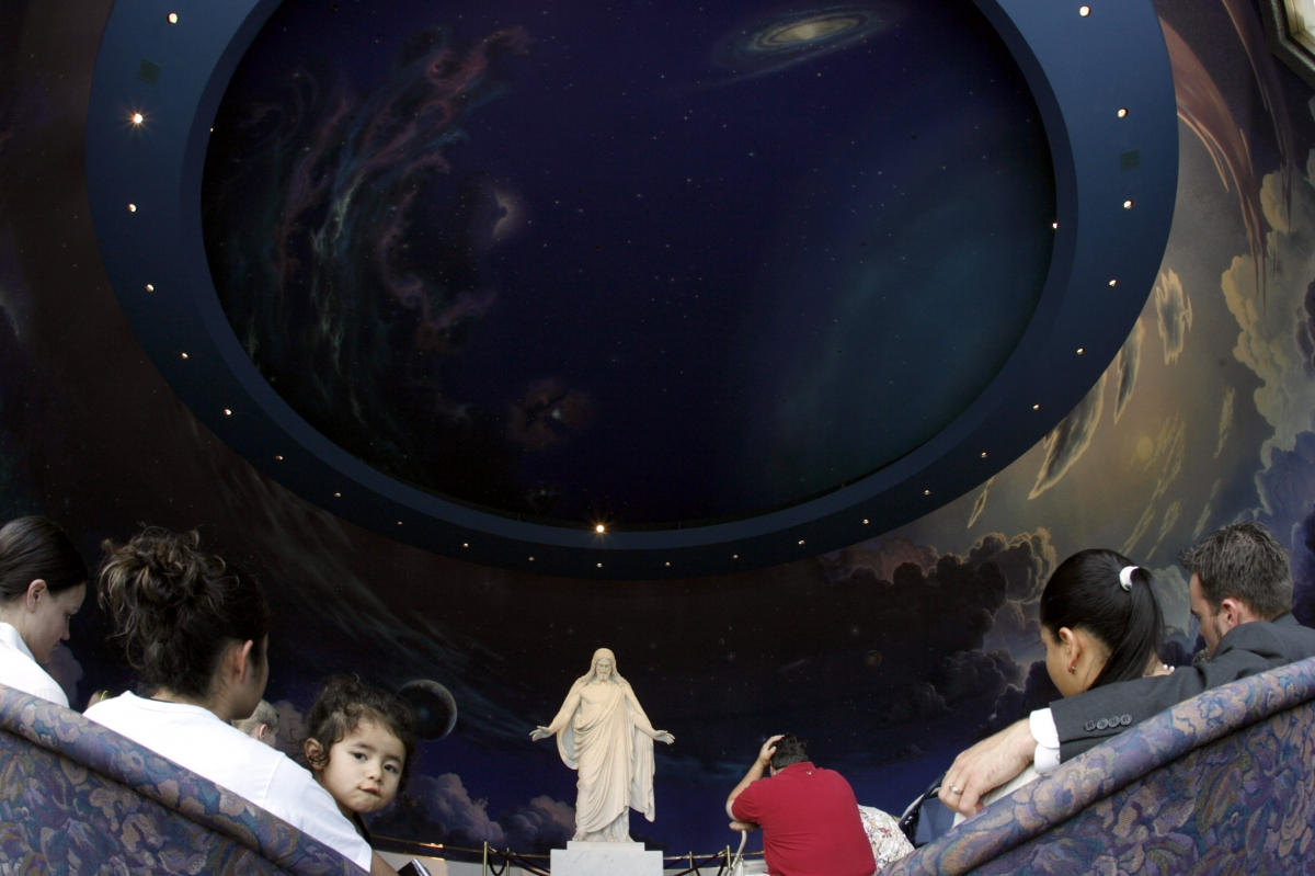 You won't get your own planet when you die, says the LDS Church