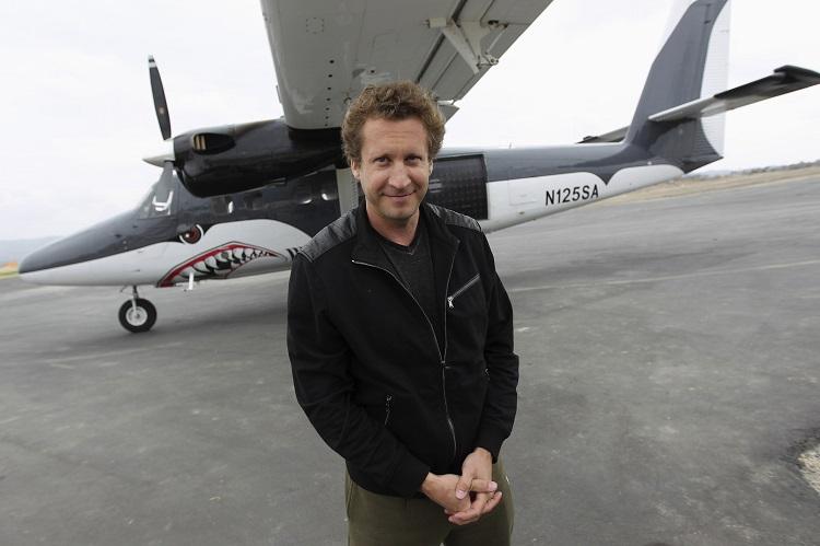Wingsuit explorer Joby Ogwyn