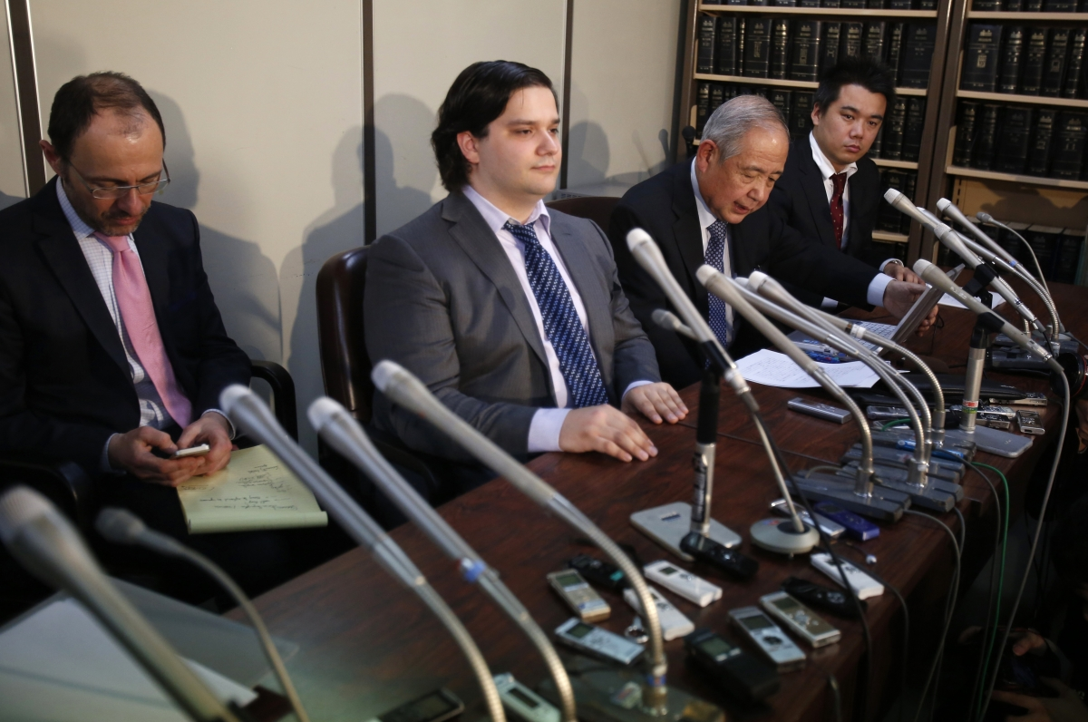 Mark Karpeles, CEO of MtGox