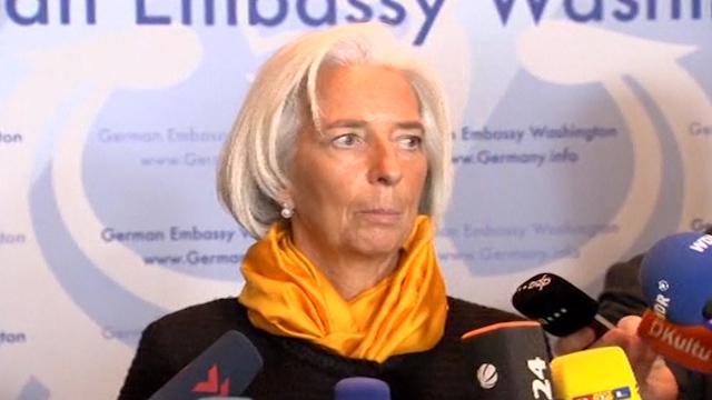 Lagarde: No Need to Panic on Ukraine Aid Request