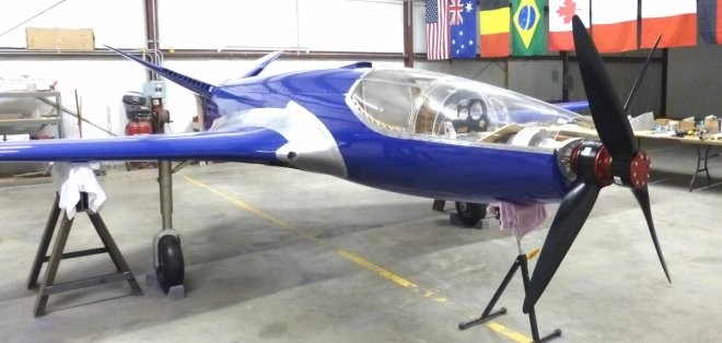 A group of airplane enthusiasts have rebuilt the Bugatti 100P