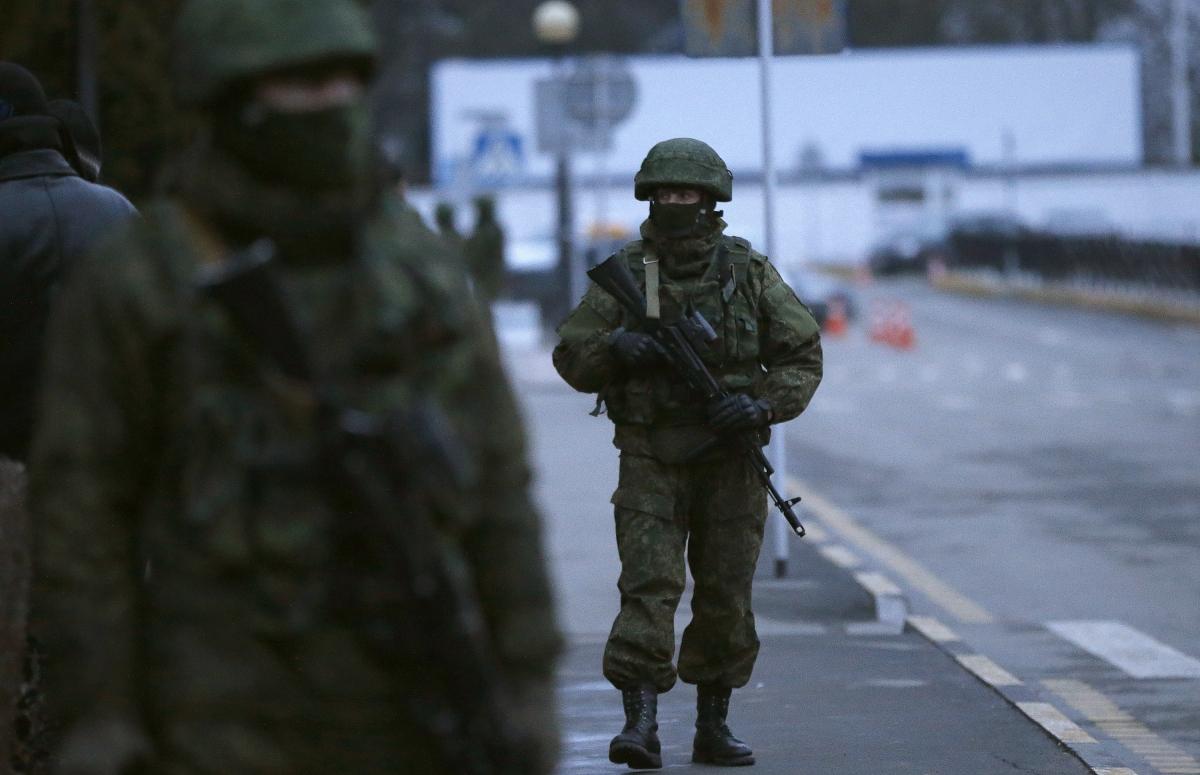 Crimea Russian troops