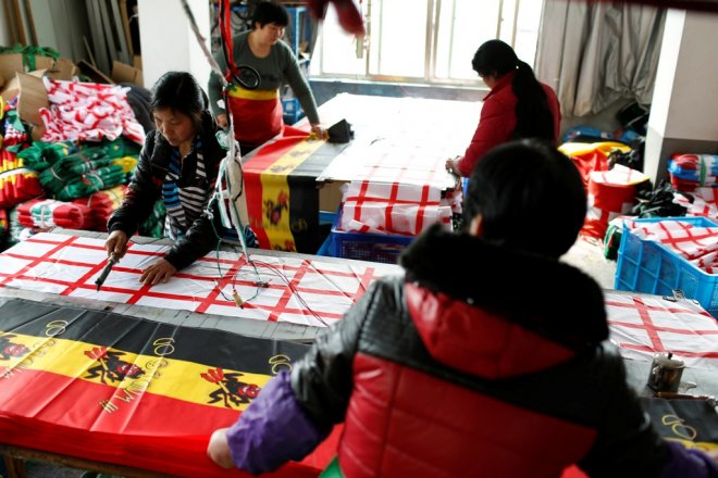 China Flag Factory