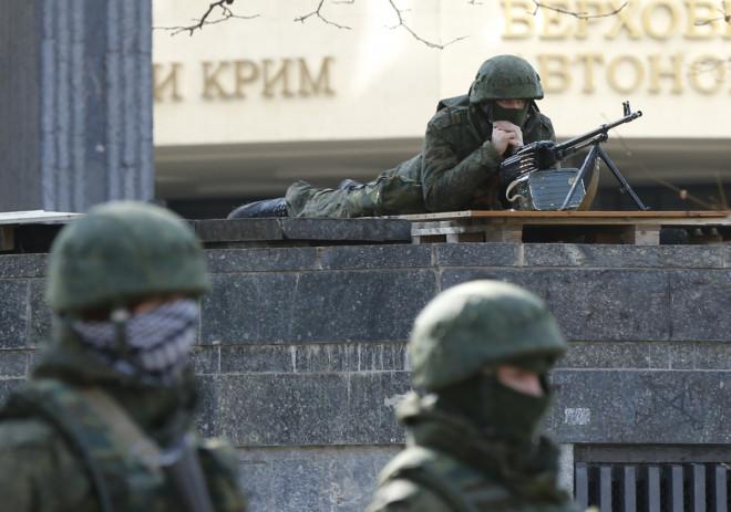 Ukraine unrest and Russian intervention in Crimea