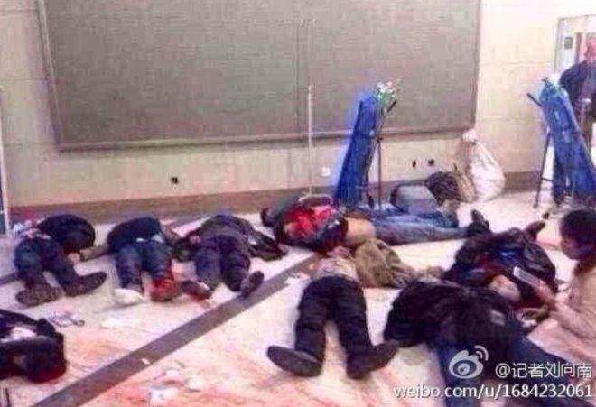 Carnage in China