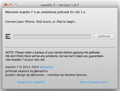Evasi0n7 1.0.7 Released: How to Jailbreak iOS 7.0.6 Untethered with Fix for Cydia Package List Issue