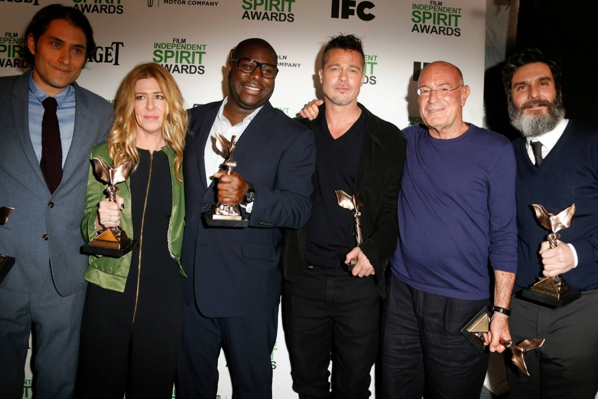 Team of 12 Years a Slave at Independent Spirit Awards