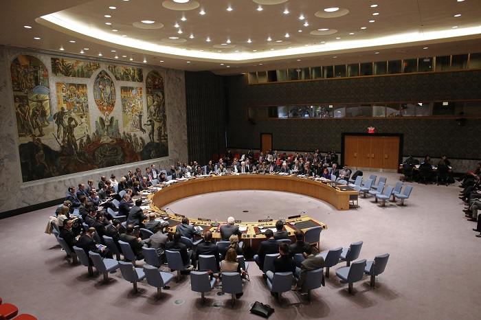 UN Security Council members convene for an emergency meeting about the unfolding crisis in Ukraine's Crimea region.