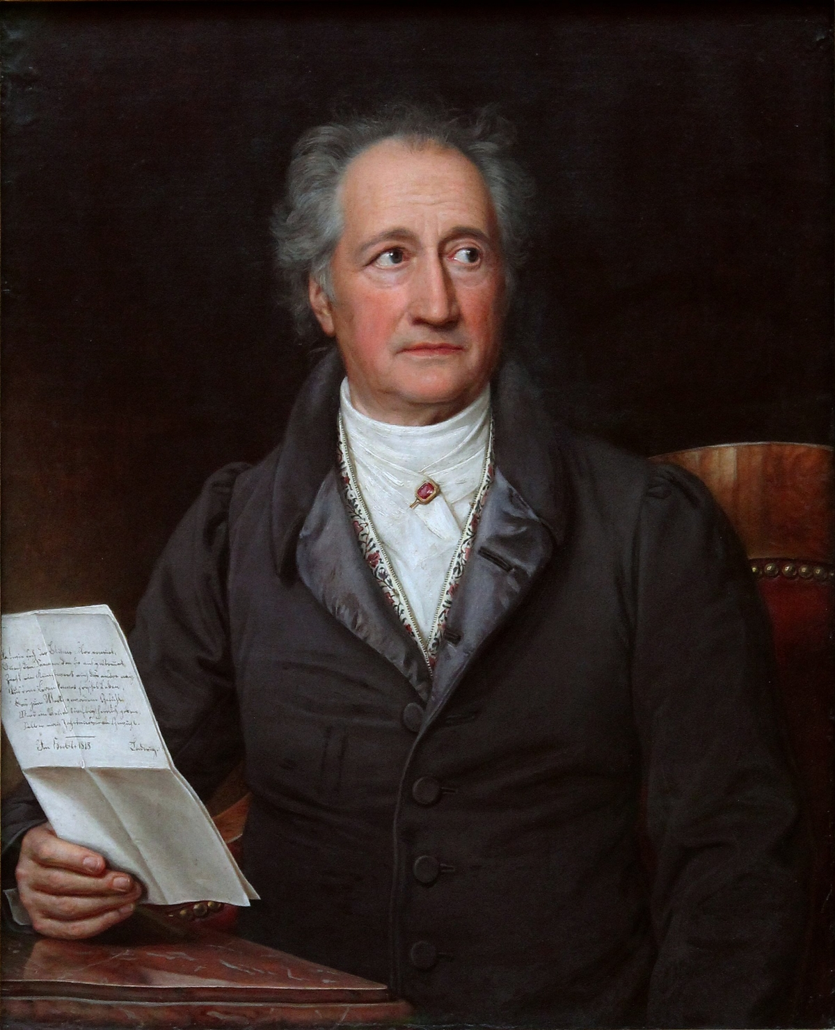 German writer, scientist, and politician, acclaimed as one of history's greatest geniuses, Johan Wolfgang von Goethe was more than 6 feet tall.