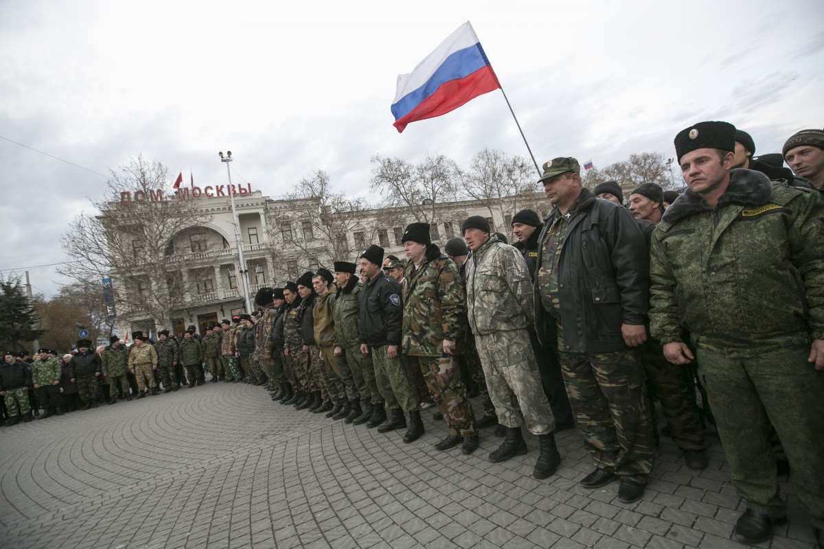 Russia's military intervention in Ukraine