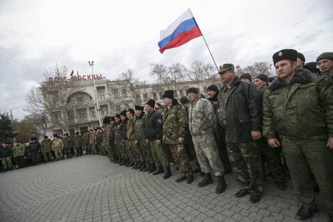 Russia's military intervention in Ukraine