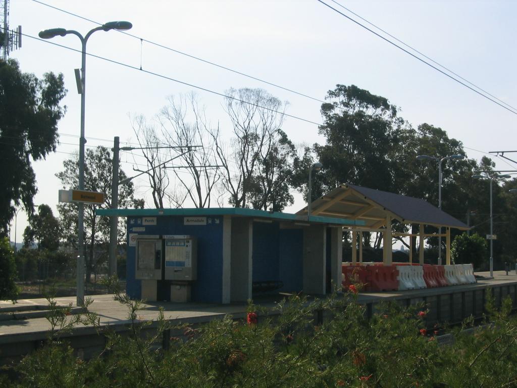 Burswood train station