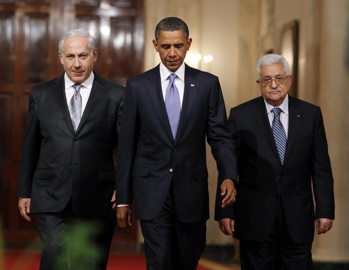 Occupied Palestinian Territories Middle East Peace Process Barack Obama Benjamin Netanyahu