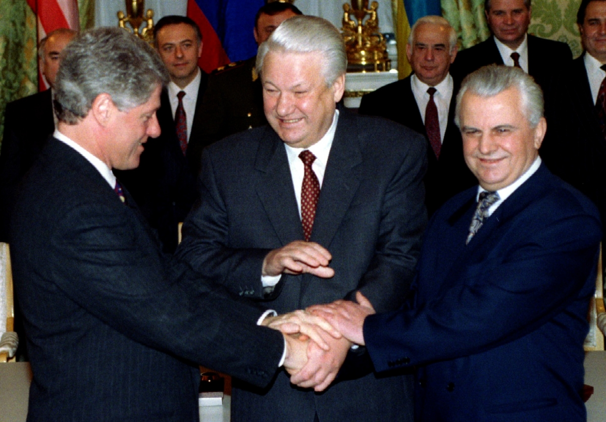 Leonid Kravchuk Ukraine Russia Crisis War Invasion