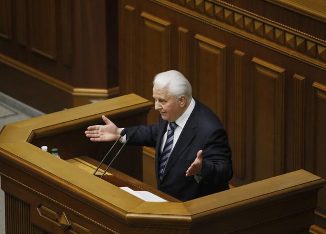 Leonid Kravchuk Ukraine Russia Crisis War Invasion Crimea