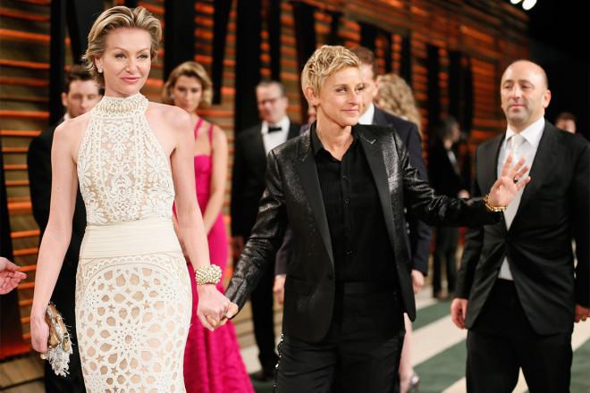 Ellen And Portia Wedding.Is Ellen Degeneres Marriage In Trouble Portia De Rossi Leaves